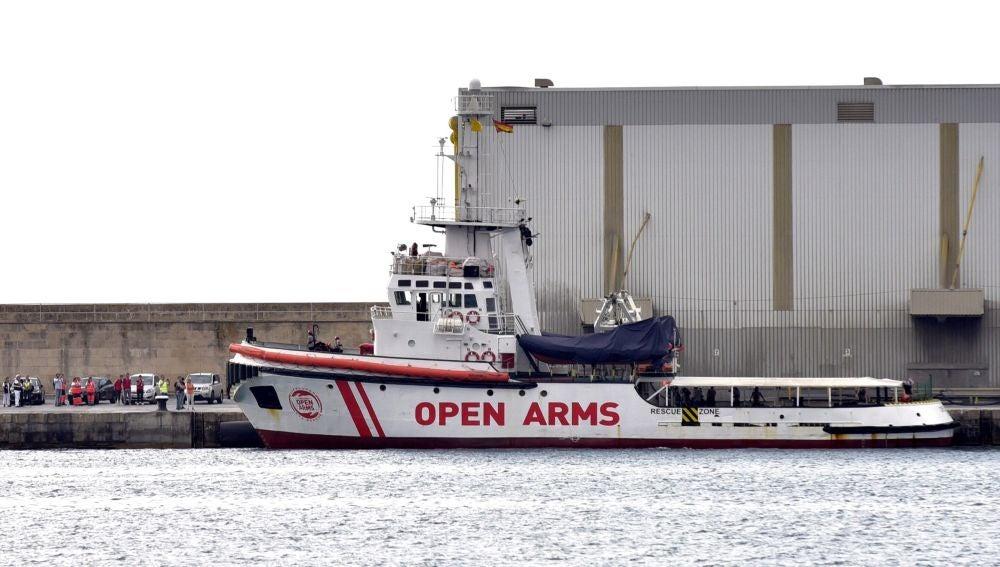 Imagen de archivo del Open Arms