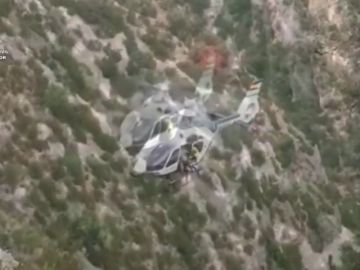 La Guardia Civil ha llevado a cabo 13 operaciones de rescate debido a fuertes tormentas