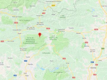 Buscan a cuatro menores perdidos en Riudaura cuando hacían montañismo