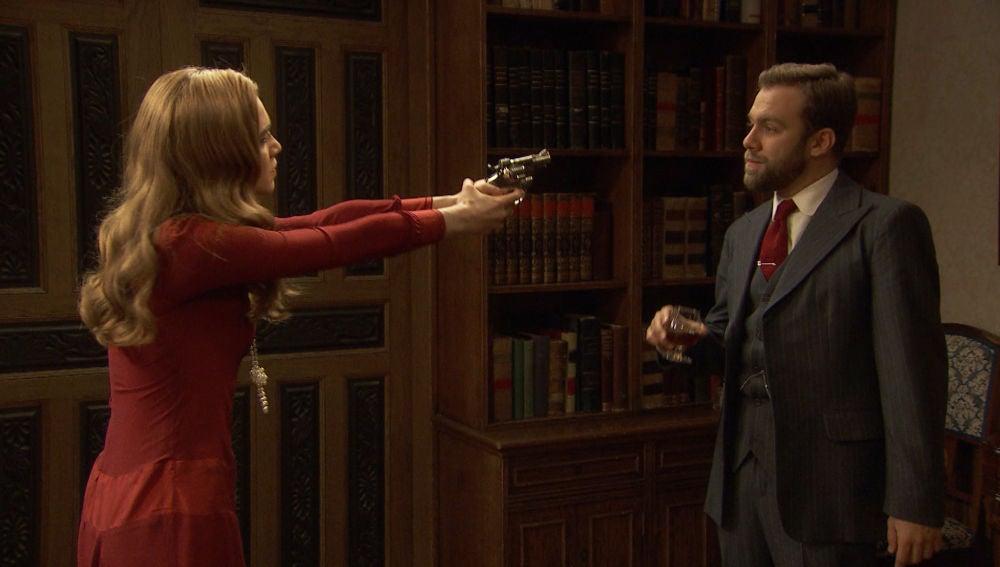 """Julieta: """"¿Cómo se yo que no has preparado la pista para señalar a Prudencio y manipularme?"""""""