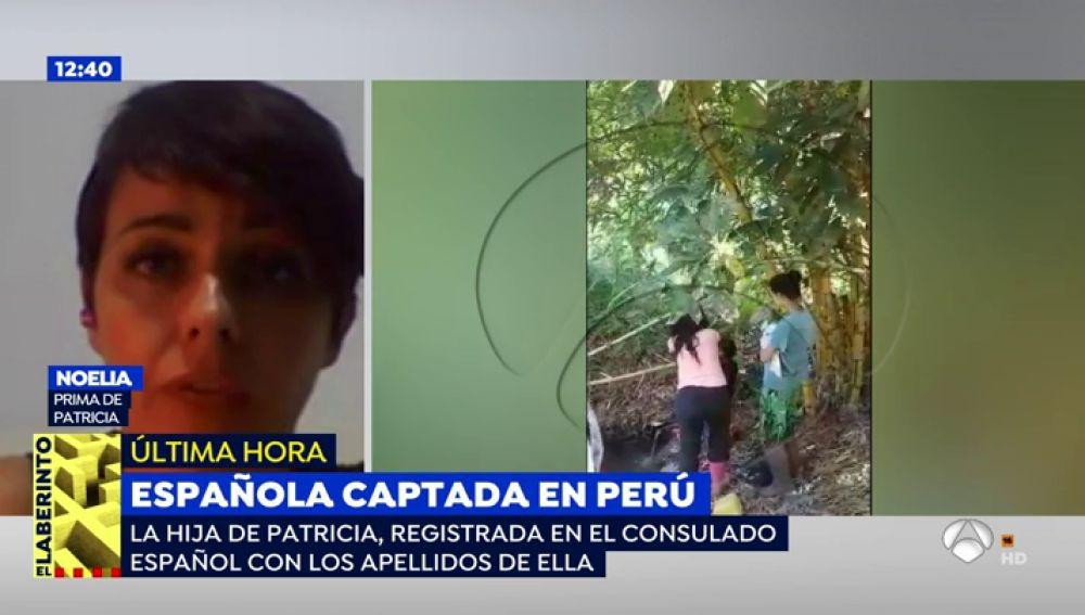 """La prima de la joven captada en Perú, sobre su vuelta a España: """"Me asusta saber que sólo hemos visto la punta del iceberg"""""""