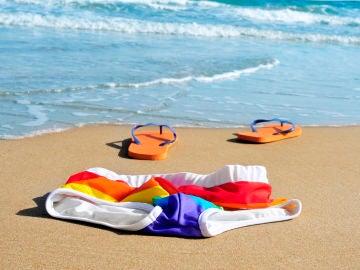 Nudismo en playa