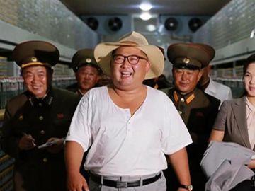 Foto veraniega de Kim Jong-Un