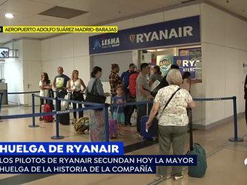 Más de 65.000 pasajeros de toda europa afectados por la huelga de Ryanair