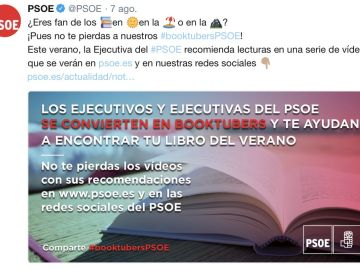 Booktobers del PSOE