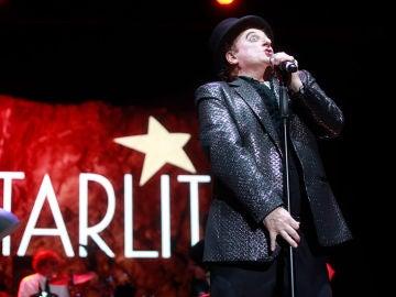 Gurruchaga en 'La noche movida' en Starlite Marbella 2018
