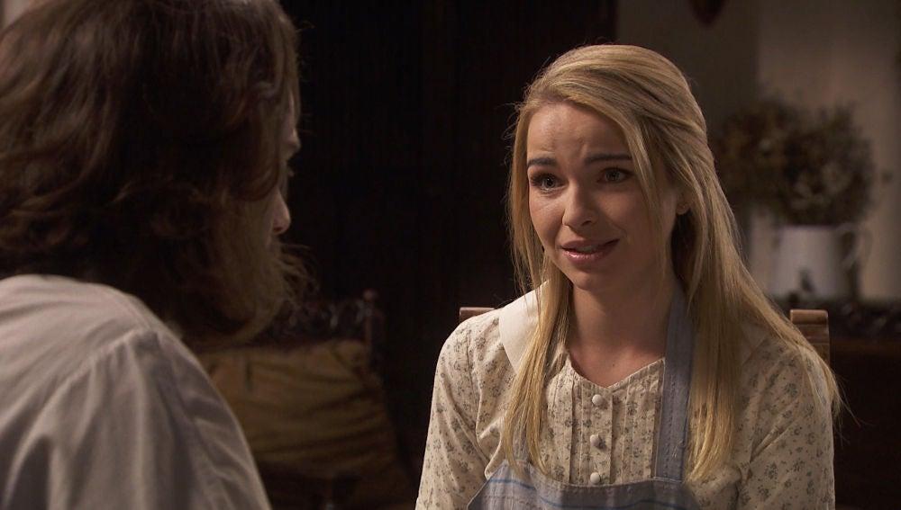 Antolina se aprovecha de la situación y propone a Isaac avanzar en su relación