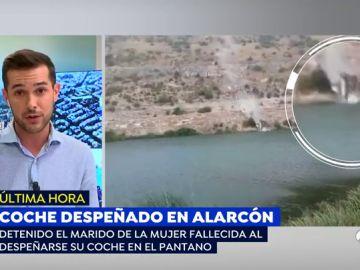 Detenido el marido de la mujer fallecida al despeñarse su coche en el pantano de Alarcón