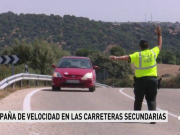 El exceso de velocidad en las carreteras españolas continúa siendo un problema