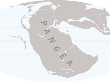 El supercontinente Pangea