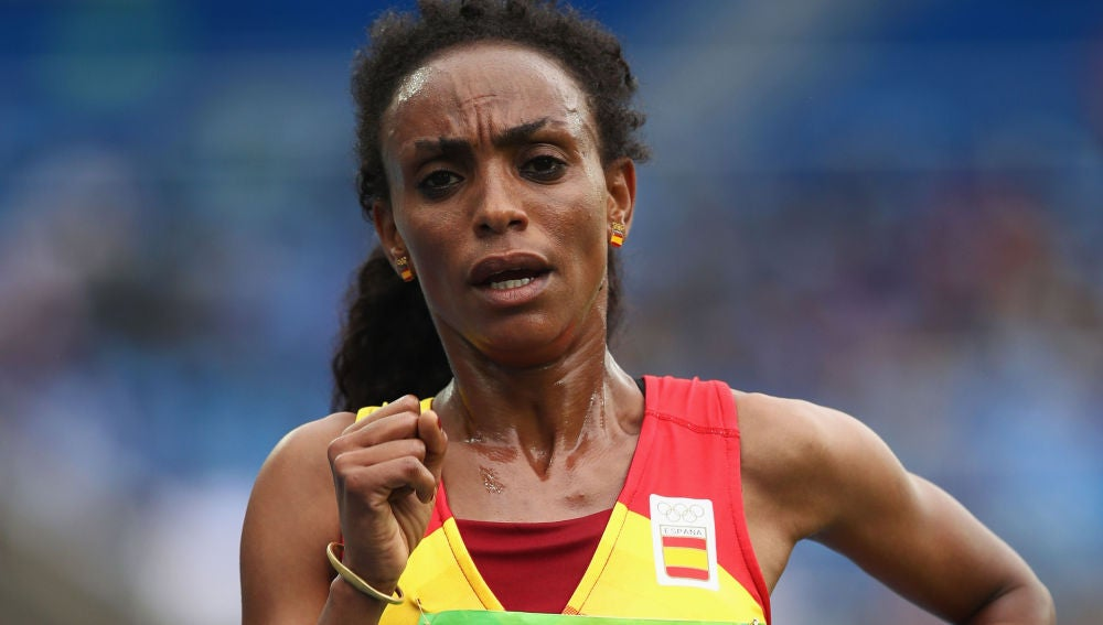 La atleta española Gebre