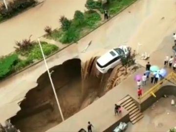 Más de 20 derrumbes de carreteras en el noroeste de China