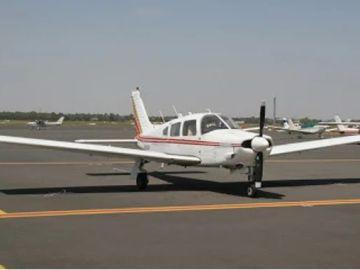 Imagen de archivo de una avioneta
