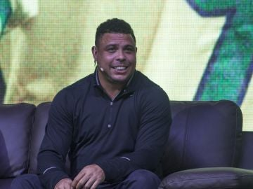 El exfutbolista brasileño Ronaldo Nazario