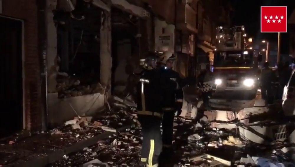 Una explosión en un restaurante de comida china en Pozuelo obliga a desalojar dos bloques de edificios
