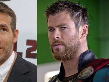 Ryan Reynolds y Chris Hemsworth quieren intercambiar sus papeles