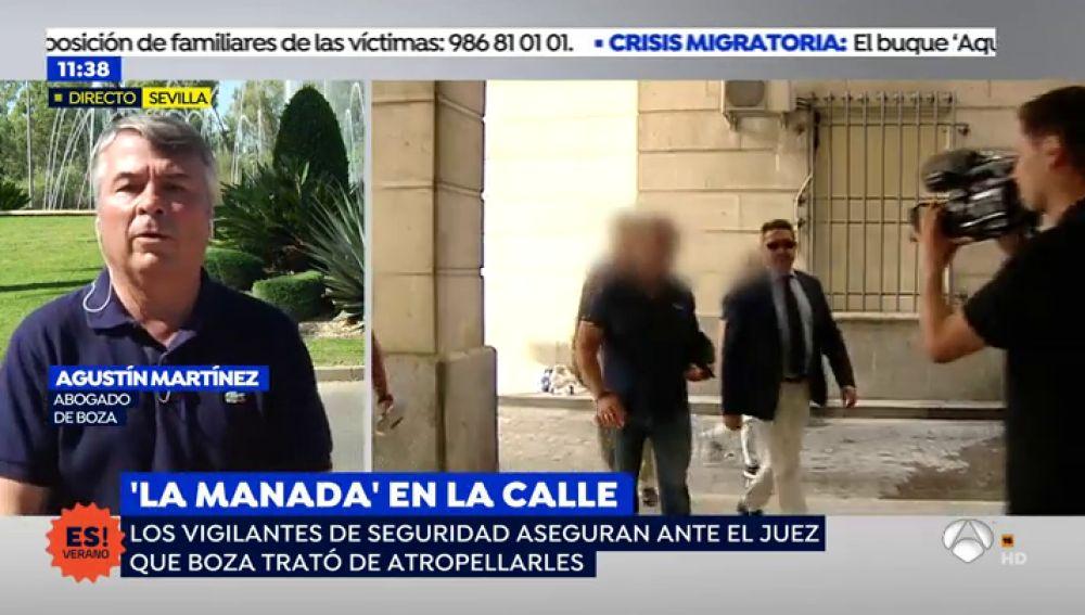"""El abogado de Ángel Boza, miembro de 'La Manada': """"Es absolutamente irracional que después de estar dos años en prisión robe unas gafas"""""""