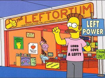 Celebra el Día Internacional de la Zurdera con 'Los Simpson'