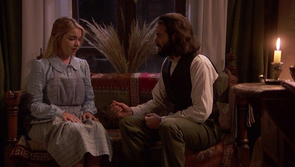 "Isaac: ""Antolina, ¿quieres casarte conmigo?"""