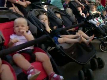Ucrania bate el récord de la mayor concentración de gemelos