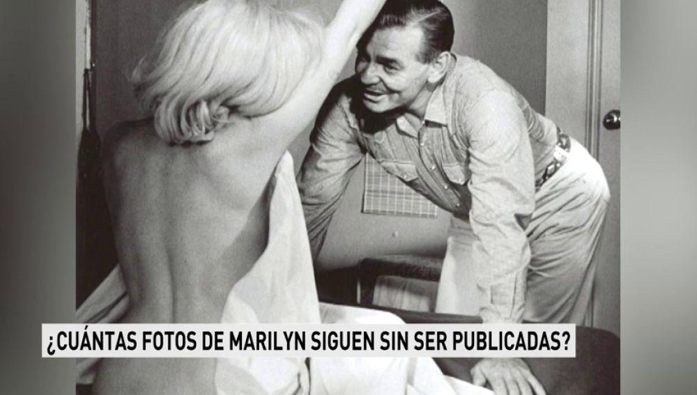 Se publica una fotografía inédita de Marilyn Monroe