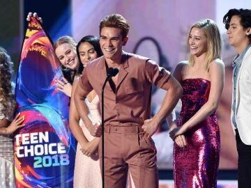 El reparto de 'Riverdale' en los TCA2018