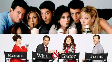 'Friends' y 'Will and Grace'