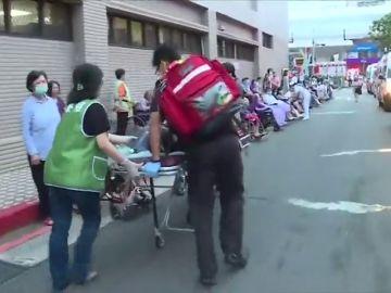 Nueve muertos en un incendio en un hospital en Taiwán