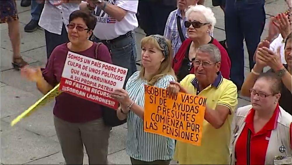 Los pensionistas de Bizkaia cumplen 7 meses sin descansar