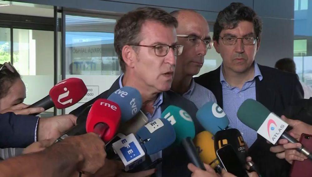"""Núñez Feijóo pide dirimir responsabilidades: """"Estamos abochornados"""""""