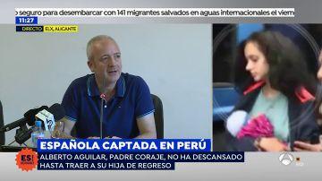 """El padre de la joven captada en Perú tras su vuelta a España: """"La vuelta ha sido posible gracias a la presión mediática"""""""