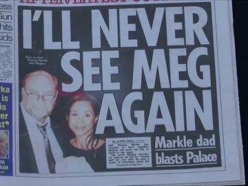 Thomas Markle teme no volver a tener contacto con su hija
