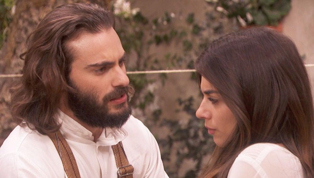 """Isaac: """"Elsa, mírame a los ojos y dime que quieres que me case con Antolina"""""""