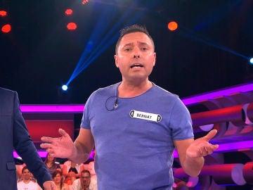 Un concursante de '¡Ahora Caigo!' se mete al público en el bolsillo con una canción muy romántica