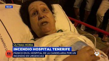 El testimonio de un testigo del incendio en el hospital de Tenerife