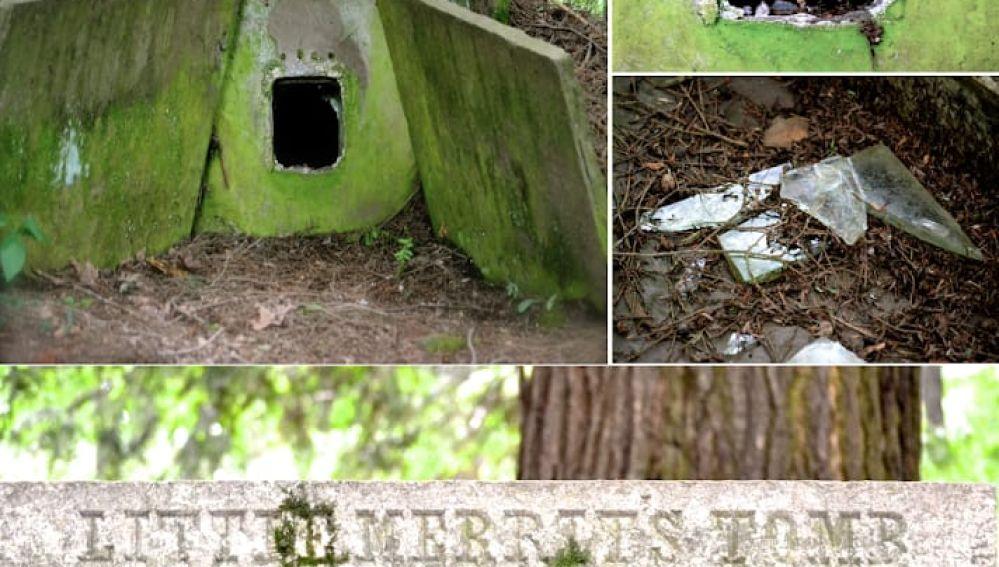 La tumba de Merrit Beardsley