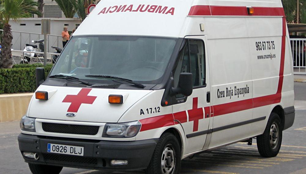 Ambulancia de la Cruz Roja
