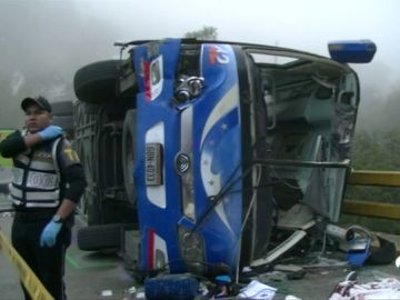accidente ecuador