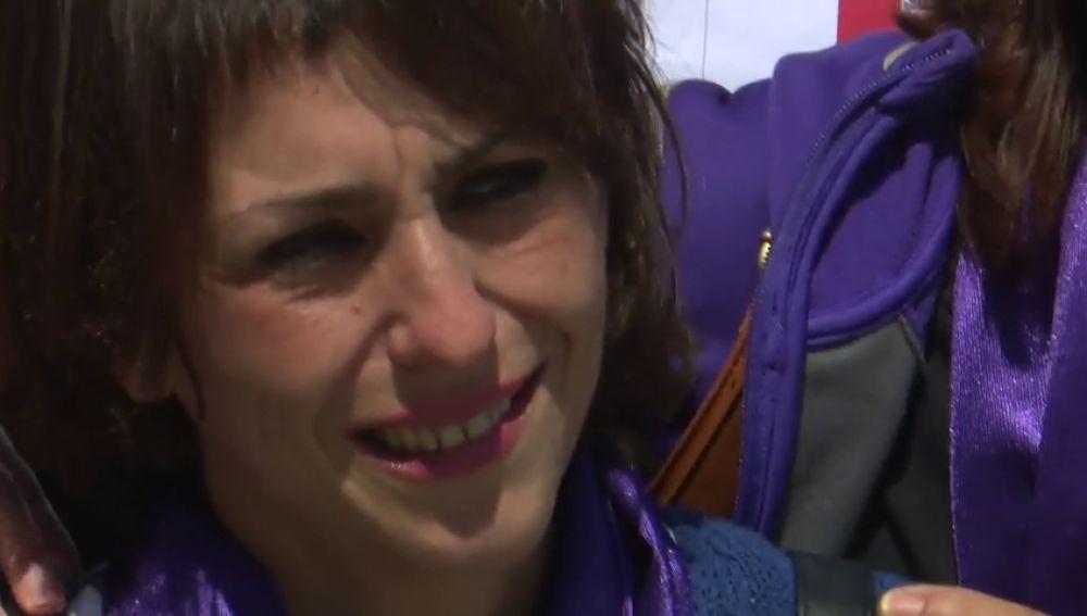 """Juana Rivas se reencuentra con sus hijos en Cagliari: """"Ha sido muy emotivo, teníamos mucha ilusión"""""""