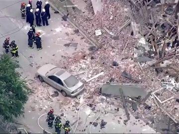 Explota una casa debido a un escape de gas en Denver