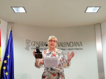 La Consellera de Sanidad de la Generalitat Valenciana, Ana Barceló.