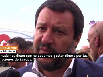 Salvini responsabiliza a la Unión Europea del derrumbe del viaducto de Génova