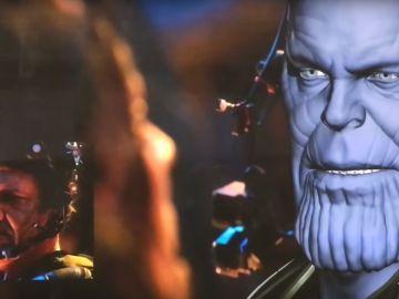 Josh Brolin como Thanos en 'Vengadores: Infinity War'