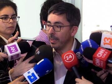El portavoz de la Conferencia Episcopal de Chile, Jaime Coiro