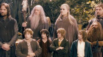 Protagonistas de 'El señor de los anillos'