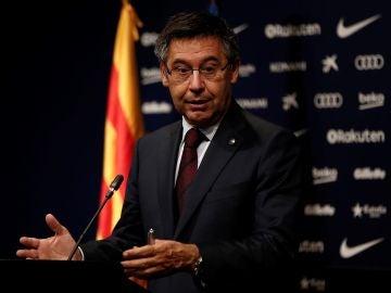 Bartomeu, presidente del FC Barcelona