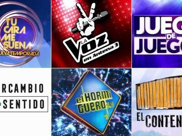 Entretenimiento en Antena 3