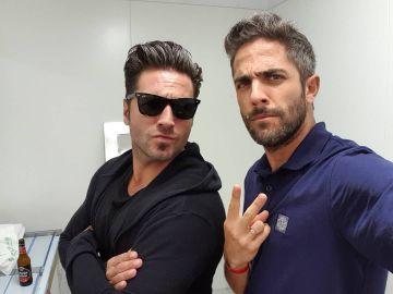 David Bustamante y Roberto Leal