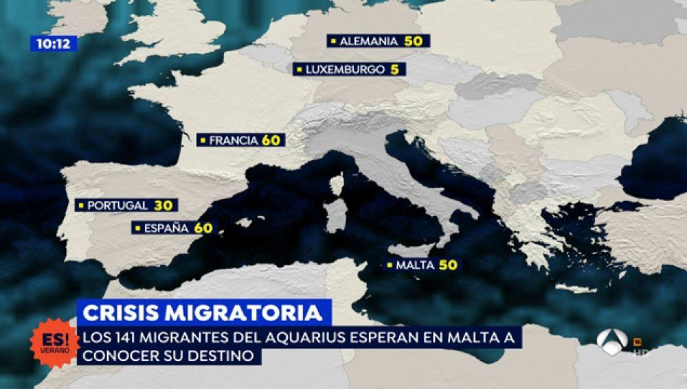 Ha habido un cambio de criterio de la Generalitat frente a los migrantes