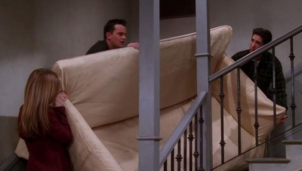 Escena 'Friends' sofá